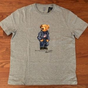 Ralph Lauren Polo American Flag Bear shirt. Large